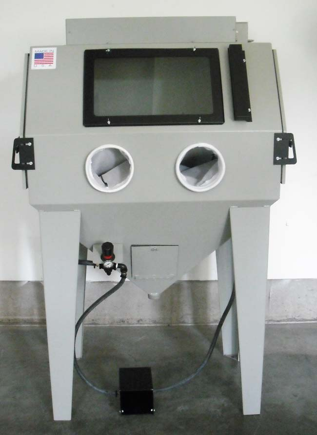 Power Blaster Suction Blast Cabinet 4024