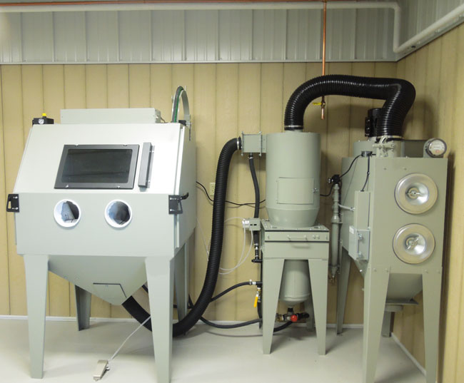Pressure Blast Cabinet Cartridge Dust Collector